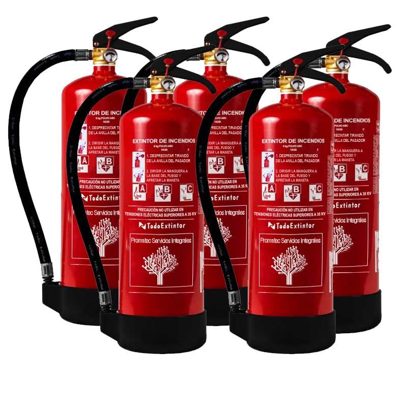 Precio del extintor